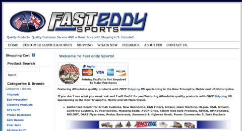 Fast Eddy Sports Reviews