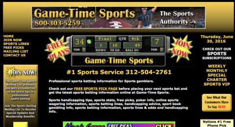 Game Time Sports Reviews