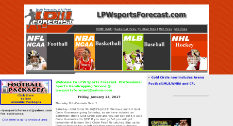 LPW Sports Forecast Reviews