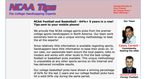 NCAA Tips Reviews