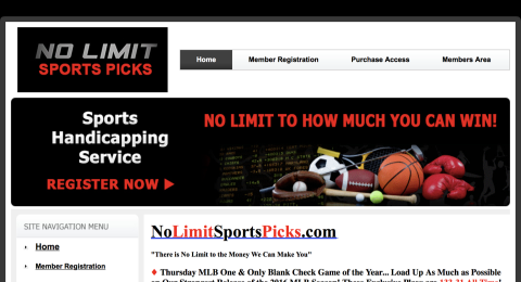 No Limit Sports Picks Reviews