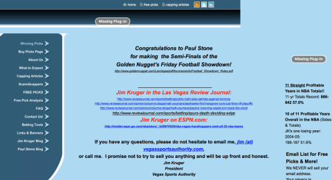 Vegas Sports Authority (Jim Kruger) Reviews