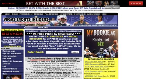 Vegas Sports Insiders Reviews